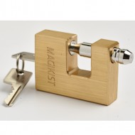Block Lock with Stainless Steel Shackle