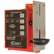 iCoin Electronic Multi-Coin Acceptor, Canadian, 12-30vdc, relay output
