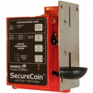 SecureCoin Electronic Multi-Coin Acceptor, U.S., 12-30vdc, relay output