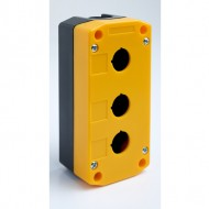Enclosure for Three 22mm Pushbuttons