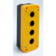 Enclosure for Four 22mm Pushbuttons