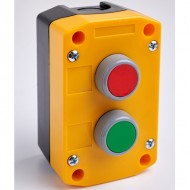 Remote Control Station with Red and Green Pushbuttons