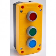 Remote Control Station with Red, Green and Blue Pushbuttons