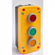 Remote Control Station with Red, Green, and Yellow Pushbuttons