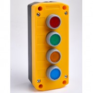 Remote Control Station with Red, Green, Yellow and Blue Pushbuttons