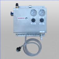 Single Bay Air Pump Foam Brush System With Bay Equipment