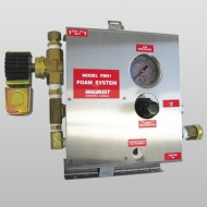 Single Bay Injector Foam Brush System With Bay Equipment