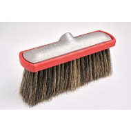 Hog Hair Foam Brush With Red Bumper