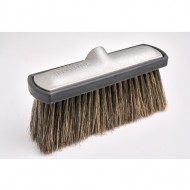 Hog Hair Foam Brush With Black Bumper