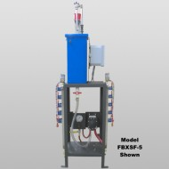 Two Bay Air Pump Foam System With Bay Equipment
