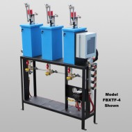 Four Bay Triple Foam Air Pump Foam System With Bay Equipment