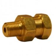 Brass High Pressure Swivel 1/4