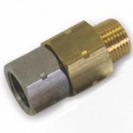 "Brass High Pressure Swivel 3/8"""