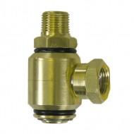 Brass 90° High Pressure Swivel
