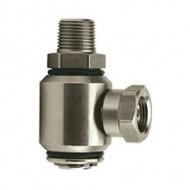 Stainless Steel  90° High Pressure Swivel