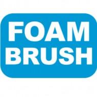 Lexan Insert FOAM BRUSH for 8/10/12 Postion Switch Label