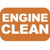 Lexan Insert ENGINE CLEAN for 8/10/12 Postion Switch Label