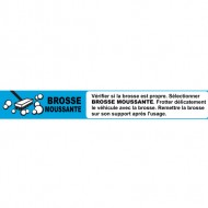Instruction strip BROSSE MOUSSANTE (french)