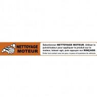 Instruction strip NETTOYAGE MOTEUR (french)