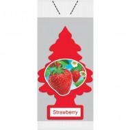 Little Trees Air Freshener - Strawberry Vend Pack (72 Trees/Case)