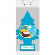 Little Trees Air Freshener - Carribean Vend Pack (72 Trees/Case)